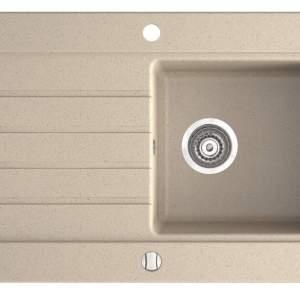 Гранитна мивка 78х50х20см. OZZY DRG52/78S