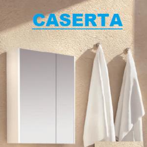 Горен шкаф огледало CASERA 50 см