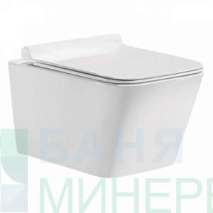 Конзолна тоалетна чиния М-102 /soft close – ултра тънка дъска /
