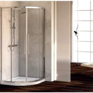 KUBO R заоблена душ кабина 90х90 Ideal  Standard
