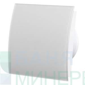 Вентилатор за баня с бяло,овално стъкло MM-P 06 8459 /Ф-100 /105m3/h- MMOTORS БЪЛГАРИЯ