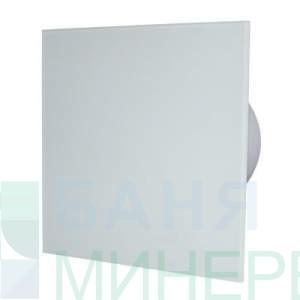 Вентилатор за баня с бяло право стъкло MM-P 06 8466 /Ф-100 /105m3/h MMOTORS БЪЛГАРИЯ