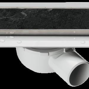Линеен сифон за вграждане на плочка – серия OPTIMA S – 40 см