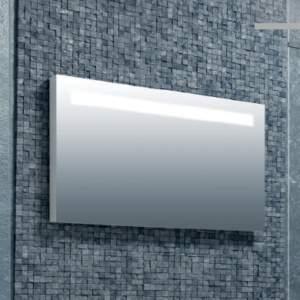 DEANO 80 огледало с PVC рамка и LED осветление
