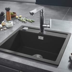 K700 Композитна мивка черен гранит 31651 AP0 GROHE