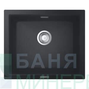 K700 Композитна мивка черен гранит 31654AP0 GROHE